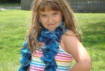 Scarves / Very  pretty! New style ruffle scarves. / by designbyelena
