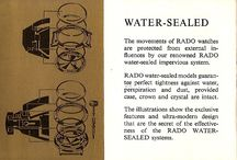 1965 Rado Watch Booklet English