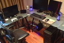 Gaming setups / All the gaming setups I want  and I hope I can get one