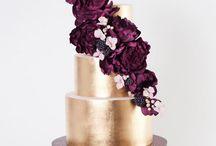 Camilla og Kristian bryllups kager