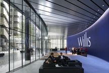 Willis / The Willis project was the largest project in London for 2009 and the total size was 350000 square feet.