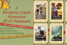 A Bindarra Creek Romance / Welcome to Bindarra Creek, a struggling country community whose townspeople work hard and love deeply.  Set in the tablelands of New England, Australia, the fictional Bindarra Creek is a drought stricken community full of intrigue, adventure, drama and honest country goodness. Life and love in a small country town has never been more challenging. / by Juanita Kees