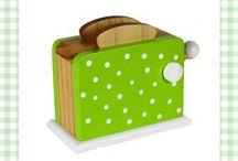 Kookspeelgoed / Kwalitatief mooi speelgoed gericht op eten en koken. Jong geleerd is oud gedaan!
