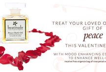 Valentines Day Gifts / Relaxing aromatherapy gifts that help with well-being