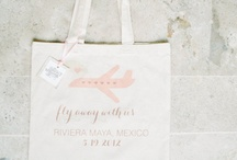 Welcome Bags / #welcome #guest #hospitality #wedding #summer #beach #destination