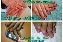 manicure / diseños en las uñas naturales
