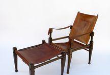 Safari Chair, Colonial Chair, etc.