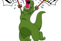 I loves me a T-Rex