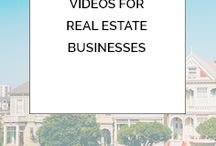 Videos for Real Estate Businesses / Tutorials and advice for real estate agents and brokers who want to make their own property videos.