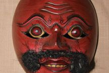 Traditional Mask / Wood Traditional Mask