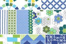 Pretty fabric / by Elizabeth Deprey