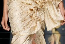 Trends January 2015 / Nudes, golds and ice blues with lots of embroidery.