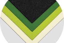 """Felt Sheet Packs: 100% Wool / A set of (4) 18""""x18"""" felt sheets in both colorful & neutral mixed palettes. Precision cut from our rich 100% Wool Felt, these are perfectly sized for personal projects or generous samples for a designer's material library. $72 per palette."""