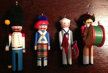 Peg people and other dolls