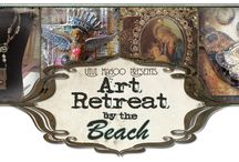 Art Retreat by the Beach - May 17 - May 19, 2013 / Jewelry design and mixed-media retreat Glorietta Bay Inn Coronado, California Instructors - Diane Cook, JoAnnA Pierotti and Riki Schumacher  / by Barb Solem