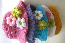 crochet girlie hats