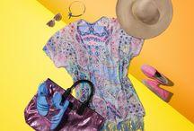 Strand-Outfit - unsere Highlights / So lässt sich der Sommer aushalten: Unser Strand-Outfit macht richtig Lust auf Sonne, Meer und Urlaub! Bei diesem sommerlichen Mustermix stellt sich sofort gute Laune ein. Einfach den CODELLO Kimono über Bikini oder Badeanzug tragen, schimmernden Shopper geschnappt und originelle Sandalen z.B. von ANCIENT GREEK SANDALS oder farbenfrohe Espadrilles von MANEBI dazu - ab geht's zur nächsten Beachbar.  ► http://bit.ly/KONEN-Strand-Outfit-Damen-Sommer16-Pin