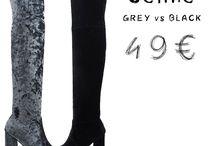 Celine 597 μπότες βελούδο πάνω από το γόνατο    49€