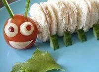 """""""Brincadeira"""" na cozinha! / """"Inventar"""" na cozinha é uma boa maneira de convencer as crianças a comer aquilo que elas normalmente recusam, como frutas, legumes e verduras!!"""