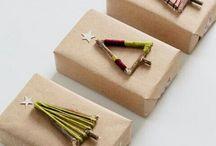 선물 박스 포장