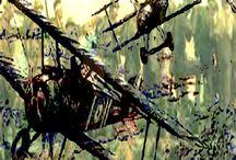 My War art