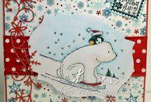 Christmas cards / Diy christmas card inspiration