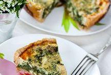 Slané pečivo, zelenina