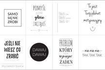 kartki z hasłami