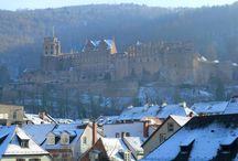 Wo ich in den letzen Jahren gelebt habe / Bilder aus der Städten Peine, Heidelberg, Ravensburg