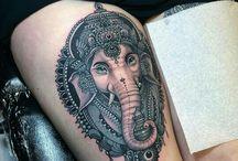 Tattoo ganesh