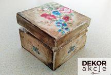 DEKORakcje / decoupage, DIY