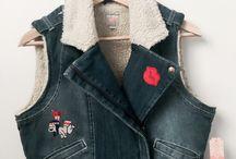 Chaleco en jean. / Único diseño, exclusivo talla M