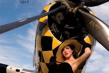 Warbird Pinup Girls 2011 / Inaugural release of the Warbird Pinup Girls annual calendar. Featuring all flight-worthy WW2 Warbirds and authentic 1940s pinup girls.  #WWII #WW2 #Ilovemysoldier #army #navy #marine #airforce #specialforces #armywife #armygirlfriend #airforcewife #airforcegirlfriend #marinewife #marinegirlfriend #navywife #navygirlfriend #warbird #pinup #pinupgirls #esquire #steampunk #marilynmonroe #ditavontease #1940s #planes #aviation #P51mustang #corsair #P47thunderbolt #tbmavenger #T6 #Stearman #P40