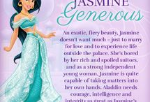 Princess Jasmine / One of my top five favorites and my oldest daughter's #1 / by Sheri Caldwell