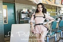 Le palais vintage / Miss Winny/Baby Winny | Chinese designer, pin-up icon and model