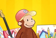 Curious George Apps / Apps featuring your favorite little monkey, Curious George!