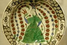 znik Plate with Female Figure (1st Half of 17th c.)