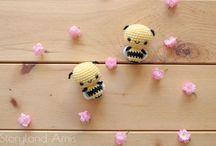 amigurumi méhecske