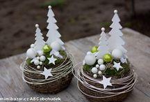 Vánoční dekorace,tvoření