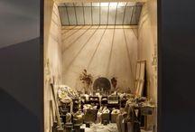 miniature interiors