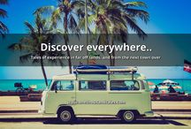 1000 Travel Experiences / Discover everywhere..  Tales of experience in far off lands, and from the next town over