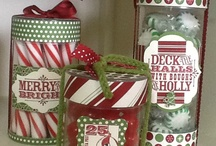 My Next Project Christmas / Mostly Stampin Up Christmas Cards, with some 3D items / by Michele Sabatino Walsh