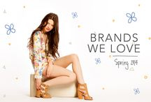 Brands We Love: Spring 2014 / by Heels.com