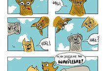 WaffleBar komics
