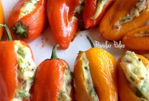 Recipes: Side Dishes- Peppers / by Alli Johnson