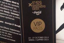 axdweek october 2014 / fashion week in athens