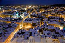 Lwow zima / Najpiękniejsze zdjęcia zimowego Lwowa