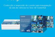 Graphic Design / Trabalhos de design gráfico