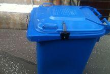 BinSpring  / Keep wheelie bin lids closed in severe weather with BinSpring