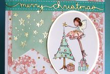 My Christmas card creations